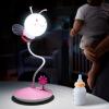 LED Bee Light Cartoon Children's Gift Night Light Touch Атмосфера прикроватная лампа 0.8W G22 colorful waterdrop cartoon ombre led night light