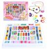 Peipei музыка девочка играет дома игрушку ручной работы из бисера детских развивающих игрушек DIY ручной работы из бисера - ювелирные изделия коробки 72006