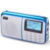 Диметоат (NOGO) R909 стерео мини-цифровые песни карты колонки радио большой экран (сине-черный) диметоит nogo q12 цвета версия старой рации карты маленьких колонок стерео мини китайский экран трава зеленая