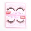 10 Пары / набор Натуральный густой макияж Накладные ресницы Длинные черные Nautral Handmade Eye Lashes Extension Высокое качество