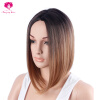 Amazing Star Hair Brazilian Straight Full Cap Wig Good Quality Synthetic Hair Weave Cheap Price R2/30/613# best new product on sale 30% 750ml brazilian keratin hair treatment hair free shipping