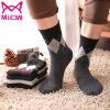 Cat People (MiiOW) [10 пар] попадают короткие чулки мужские деловые мужчины впитывающие, дышащие носки мужчины в трубке носки folk короткие носки