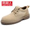 Антарктическая (Nanjiren) классическая случайных мужской одежда уличной обувь TOOLING Британского скольжение моды Мартин сапоги NJR7CY7817 черными 39 одежда