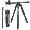 Benro (Benro) GA168TB1 SLR Canon Nikon камера штатив алюминиевый штатив похлопал многофункциональный штатив Head Kit B1 профессиональная цифровая slr камера nikon d3200 18 55mmvr