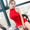 Xi Luo Man шелковистой сексуальное женское белье прозрачный сексуальный соблазн г-жа сиамского см Сан тугой красное нижнее белье г вакуумные и гидропомпы цвет прозрачный