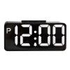 Large LED Digital Alarm Clock Snooze Electronic Desktop Clock Double Modern Double USB Digital Table Clock leap pq9907 professional digital chess clock with alarm