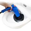 Пинг Чейз туалета драга пневматических бытовых кухни Сливной туалет труба засорение драга инструмент через пистолет механизм сливной alca plast a08