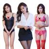 Xi Luo Man Содержит взрослых секси белье носить мундиры OL секретарь загрузки + + плотный из трех частей трех частей xi luo man содержит взрослых секси белье носить открытые файлы показывают секретарь дренажный sm молоко ol сексуальные короткие юбки