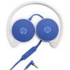 Hewlett-Packard (HP) H2800 встроенный микрофон гарнитуры телефон гарнитуры проводные гарнитуры синий планшетный компьютер hewlett packard hp h3100 гарнитура с пшеницей проводной игровой гарнитуры белый офис
