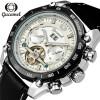 Мужские часы Лучшие бренды Роскошные автоматические часы Черный календарь Часы Мужские механические часы мужские часы yonger