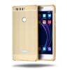 Роскошный чехол для Huawei Honor 8 Алюминиевый бампер + акриловая панель Назад Глянцевая обложка для Huawei Honor 8 сотовый телефон huawei honor 8 pro black