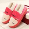 Fun justfunny чем любители кошек дома хлопок тапочки обувь мода мило плюшевых все включено теплые красные сапоги 38-39
