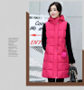 Жакет из хлопчатобумажной жилетки 2017 осень и зима новая корейская версия Тонкий в длинном разрезе перламутровый мозаичный жилет