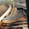 досуг и высокой вырезать, plat пу кожаные сапоги, мужские ботинки кожаные сапоги