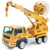 ULTI Керри AoZhiJia большой инерция мальчики сплав грузовики имитационная модель детских Развивающие игрушки автомобиля - кран