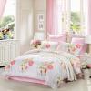 где купить Текстиль для дома Mercury Twill Twill Prints Четыре набора из роз Anne увеличивают двойную кровать 1,8 м по лучшей цене