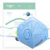 Shouken T90 маски респираторы анти-туман и дымка РМ2,5 установлены пяти взрослых мужчин и женщины теплых воздухопроницаемых очков противотуманных маски обычных синие полосы