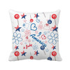 USA Candy Flower Star Love Heart Word Square Throw Pillow Insert Cushion Cover Home Sofa Decor Gift gift n home