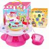 HelloKitty Hello Kitty DIY машина гончарные глины станок Дети электрические игрушки детям подарок ручной работы Глина гончарная мастерская KT-8730