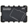 JJC MCH-MSD10GR ультратонкий держатель карты памяти SLR камера держатель карты памяти TF карта цифровой портативный пакет карт памяти серый карточный картридж (можно положить 10 MSD / TF карт) joanne jooan видеонаблюдение карты 16g памяти посвященное хранение пожизненной гарантия совместимости карт tf