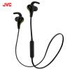 цена на JVC (JVC) HA-ET800BT Bluetooth телефон уха гарнитура спорта беспроводная гарнитура черный