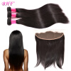 8A Lace Frontal Бразильские волосы Virgin прямые прямые с естественными волосами 100% huamn Бесплатная доставка premium huamn 8 100