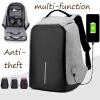Ноутбук  рюкзак  случайные противоугонные школьная сумка c USB - порт зарядки  рюкзак