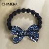 цены Химера (CHIMERA) светлые волосы ювелирных полный алмаз волос смычка кольцо волосы Shengpi ребра глубокий синий