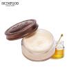 Лучшие для кожи SKINFOOD мед Укрепляющий крем для глаз 30г (крем Увлажняющий крем исчезают мелкие морщинки темные круги тянущие компактные сумки импортированные) 5 дней крем для ног освежающий 30г