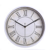 12 inches 30CM metal wall clock simple clock silent quartz movement watch for bedroom living room nordic simple bedroom living room restaurant chandelier american country ceramic lamp pendant light 1841