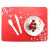 цена на Силиконовые салфетки, Pattern Table Mat Водонепроницаемый Kids Placemat Устойчивый силиконовый коврик для кухонного обеденного стола (цвет Ramdon)
