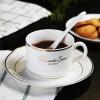 Fun в европейском керамической чашке кофе Creative Suite Пномпене три комплекта костяного фарфора чашки и блюдце ложка британского стиля куплю британского котенка недорого в днепропетровске
