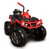 Смех ребенок ребенка электрического автомобиля ATV квадроцикл дети игрушечный автомобиль может взять человек бездорожья электрического мотоцикла батарея большого шок черного и красного HM1288 mc2 игрушечный детектор лжи