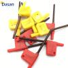 20PCS Red Flag Ключи T6 T7 T8 T9 T10 T15 Токарные инструменты с ЧПУ для токарных станков
