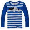 Детская футболка осень-зима с длинными рукавами с персонажами из мультфильмов для маленьких мальчиков Обувь для девочек Футболка д