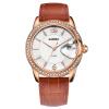 CASIMA роскошные бренды женские часы Fashion случайные дамы кварцевые наручные часы женские кожаные водонепроницаемые relojes роскошные золотые часы женские кварцевые стальные наручные часы повседневные женские наручные часы женские часы