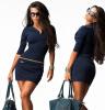 Lovaru ™2 015 горячей продажи ниже цены платье Новая мода элегантные мини-платья мода платья женщин, сексуальный леди рабочий платья платья trendy tummy платье