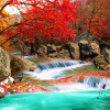 Китайский стиль 3D настенная роспись настенная бумага Природный ландшафт Xiangshan Red Leaves Crane Фото обои Mural 3D Room Пейзаж настенная плитка mainzu pillow red 15x15
