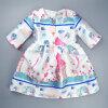 Платье для девочек с длинным рукавом и платьем для девочек