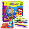 AMOS Корея импортировала детский сверхлегких супер мягкой глины / грязь цвет костюм игрушка набор инструментов 6 цветов детский костюм барби супер блестки 36