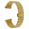22mm Кристалл Rhinestone Diamond Watch Band Нержавеющая сталь Наручный ремешок для Samsung Gear S3 Classic Gear S3 Frontier butterfly buckle ceramic wristband for samsung gear s3 strap for gear s3 classic r770 s3 frontier r760 watch band 22mm