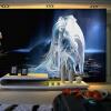 Пользовательские 3D-обои для обоев для рабочего стола Современные HD-фантазии Единорог настенной росписи Гостиный диван-фон Бесшовные обои для стен самые дешевые обои для стен брянск