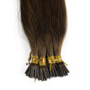 1g/s 100g Human Remy Hair Ash Brown Platinum Blonde Straight Custom Capsule Keratin Stick I-tip Human Hair Extensions 10 pieces 20 remy tape hair extensions 16 ash blonde