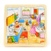 goki Wooden Jigsaw Puzzle with Storage tray (24/48/96pcs and 46/55pcs of 4 layers ) for kids blue magnetic rotation p093 bsk piececool 3d laser cutting jigsaw puzzle diy metal model nano puzzle toys for audlt