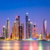 Пользовательские 3D обои настенные обои Красивые Дубай города Ночь Пейзаж Фото Стенная бумага Гостиная Ресторан Кафе Декор 3D Fresco