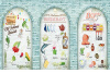 Фото обои 3D фрукты овощ кирпичная стена обои ресторан чай магазин горячий горшок обои роспись на заказ 3d роспись гонконг стрит шанхай улица сцена обои чай ресторан кофейня обои настенная роспись