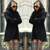 Autumn Winter Ladies Hooded Long Jackets Woolen Warm Women Slim Pocket Coats Outwear Overcoat S-4XL autumn winter ladies hooded long jackets woolen warm women slim pocket coats outwear overcoat s 4xl