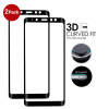 2Pack-GiGiboom 3D Full Cover Curved Edge Tempered Glass Screen Protector для Samsung Galaxy A8 Anti Scratch Easy Installation Bub