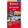 米其林世界分国目的地系列地图:西班牙 葡萄牙 安道尔旅游地图