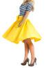Lovaru ™летом стиль юбка 2015 новых женщин способа колена юбки длины красные плиссированные юбки высокой талией с луками плюс размер юбки vita stretta юбка
